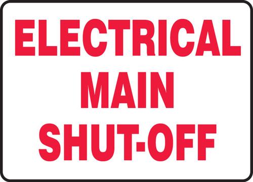 Electrical Main Shut-Off