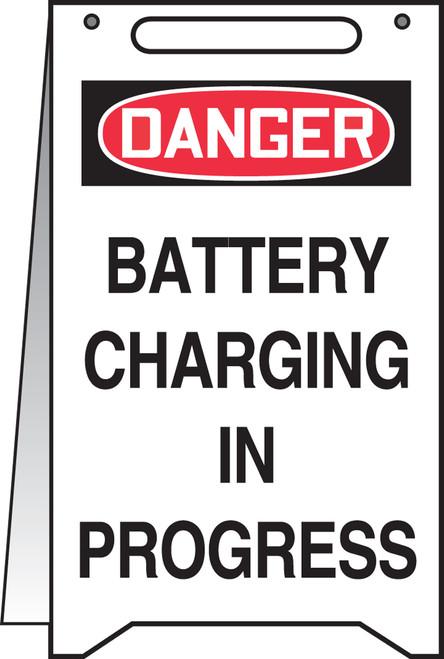 Danger Battery Charging In Progress