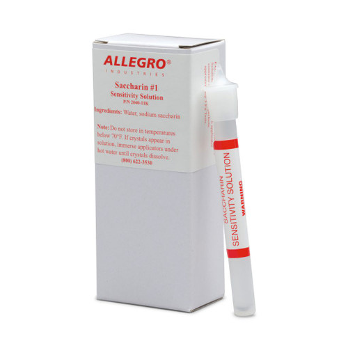 Allegro 2040-11K Saccharin Sensitivity Solution