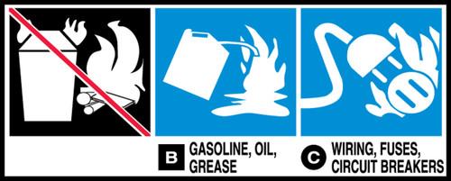 Gasoline, Oil, Grease -b Wiring, Fuses, Circuit Breakers - C