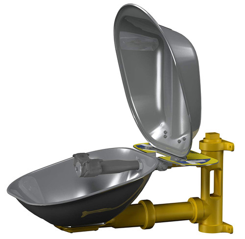 Bradley S19224DC Eyewash Station Stainless Steel Bowl and Cover