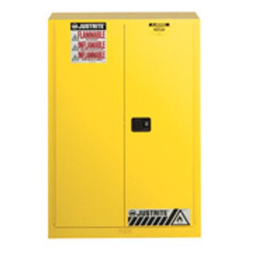 Justrite Flammable Storage Cabinet  90 Gallon 1