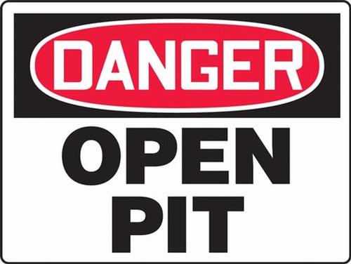 MCSP089 Danger Open Pit Sign
