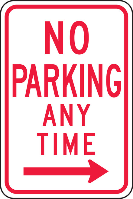 No Parking Any Time Sign 1