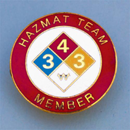 Hazmat Team Member Badge