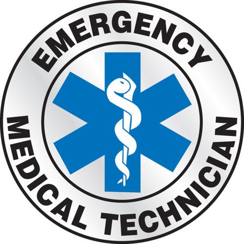 "Emergency Medical Technician - Blue 2 1/4"""