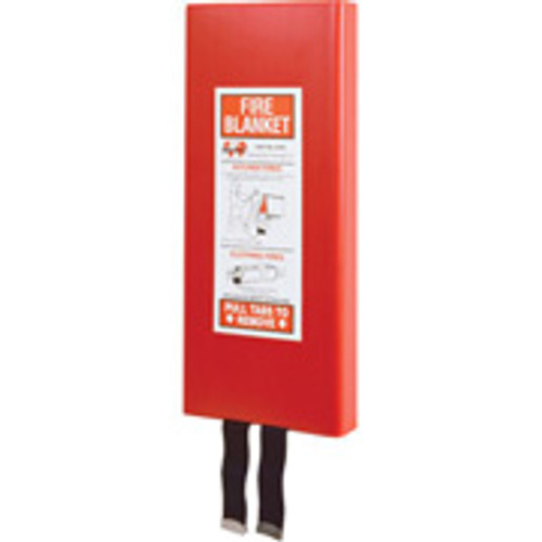 Fiberglass Fire Blanket with Case 650203