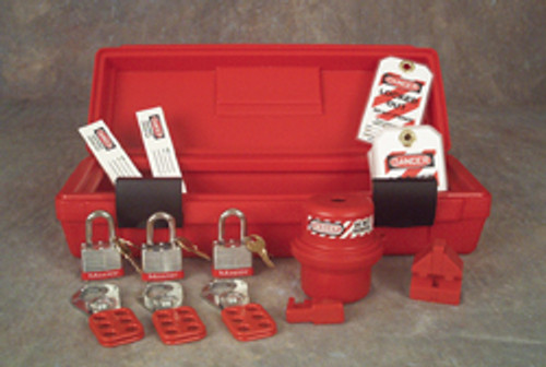 Lockout/tagout Kit - Standard Quantity