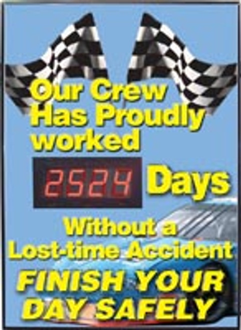Safety Scoreboard- Our Crew Has Proudly Worked #### Days Without A Lost-time Accident