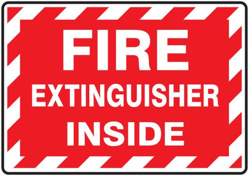Fire Extinguisher Inside - label 5/pk