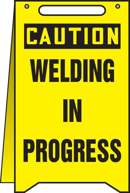 Caution Welding In Progress