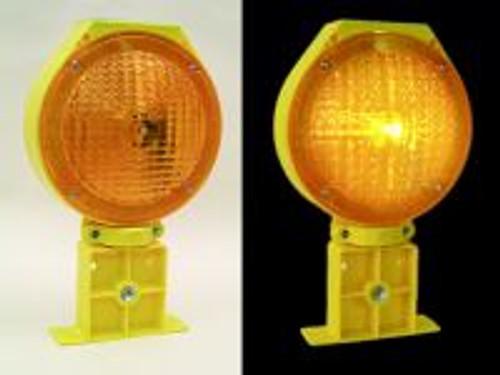 Solar Barricade Warning Light