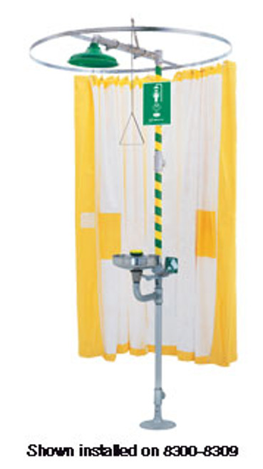 Modesty Curtain for Emergency Showers