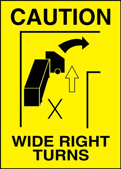 Wide Right Turns (w/graphic)