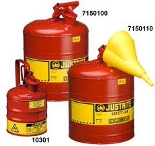 Safety Can- Type I Safety Can 3 Gallon w/ Funnel
