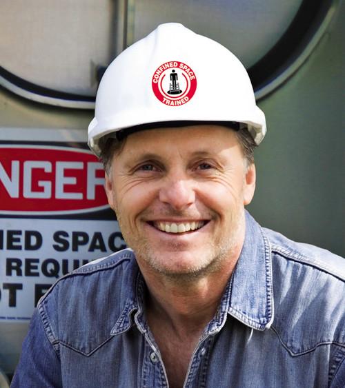 Safety Representative Hard Hat Decal