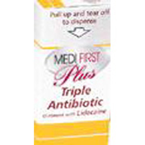 Triple Antibiotic Ointment w/ Lidocaine 25/box NON STOCK