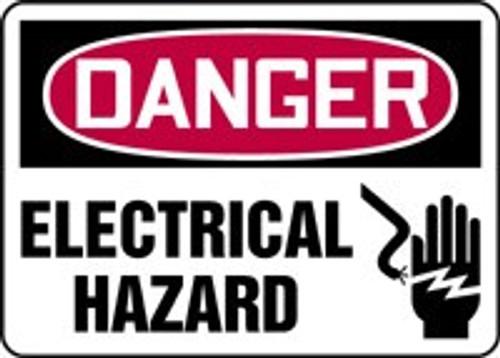 Danger - Electrical Hazard Sign