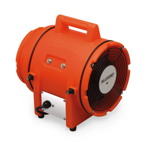 """Allegro 9538 8"""" Axial Explosion-Proof (EX) Plastic Blower"""