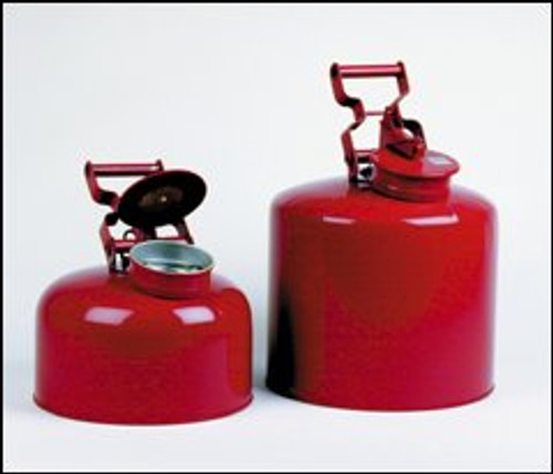 Disposal Safety Cans- 5 gal capacity- color- Red
