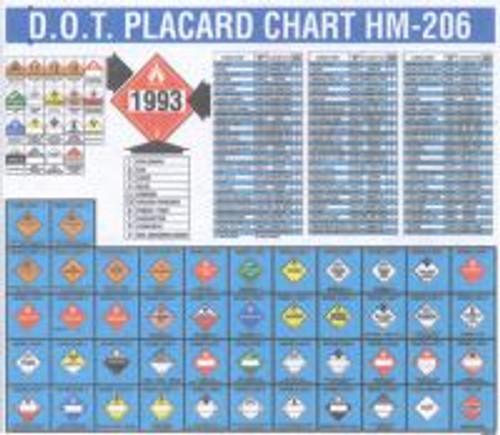 """Dot Placard Chart- 22"""" X 26"""""""