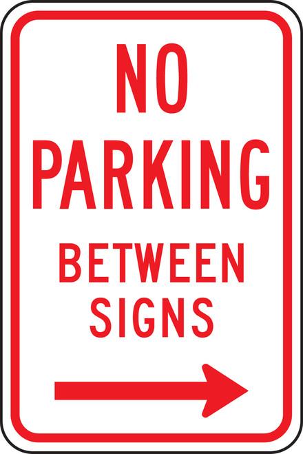 No Parking Between Signs 2