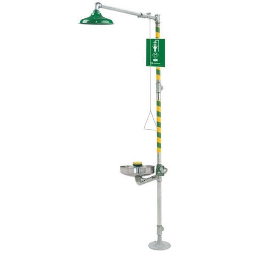 Barrier Free Emergency Shower/ Eyewash Station