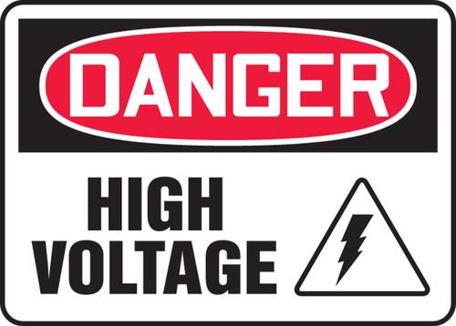 Danger - High Voltage Sign