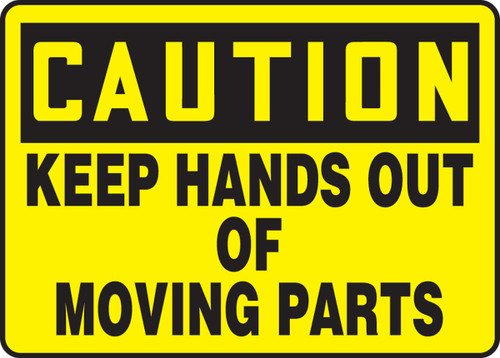 Caution - Keep Hands Out Of Moving Parts