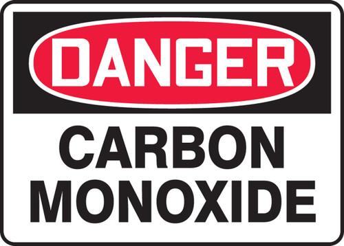 Danger - Carbon Monoxide