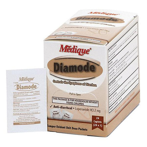 Diamode Anti-diarrheal Tablets 24/Box