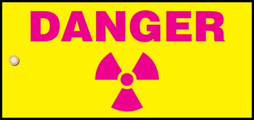 Danger Radiation Slide Sign Header (w/graphic)