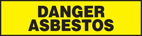Danger Asbestos Safety Label