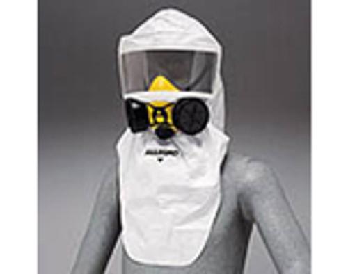 Disposable Half Mask Hood Tyvek (coated polypropylene) 12/pkg