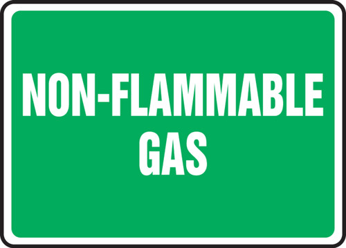Non-Flammable Gas - Dura-Fiberglass - 10'' X 14''