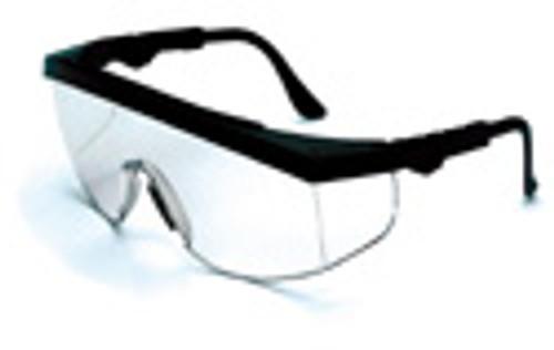 Crews Safety Glasses Tomahawk Black Frame/ Clear Lens (12 Pair)