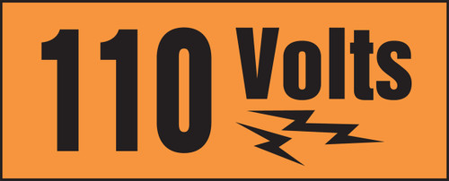 110 Volts (w/graphic)