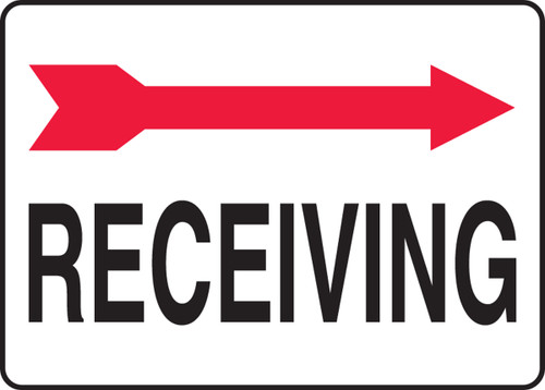 Receiving Sign- Arrow Right