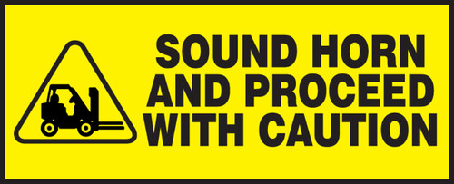 Sound Horn And Proceed With Caution (w/graphic)