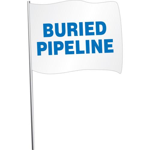 Buried Pipeline Marking Flag
