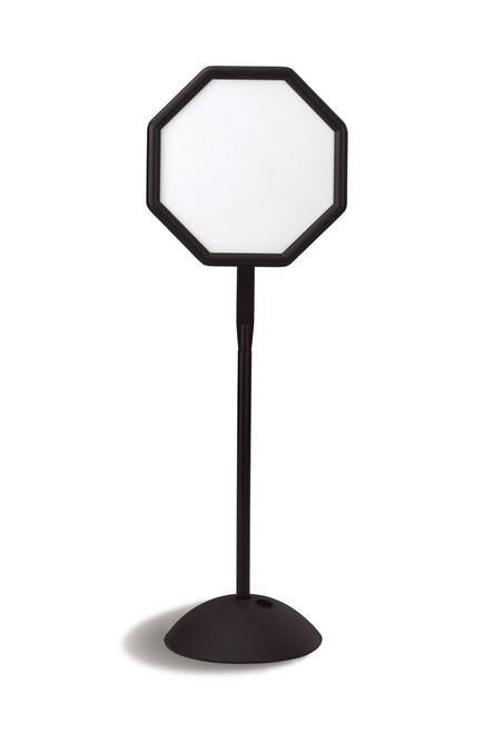 Octagonal Pedestal Sign