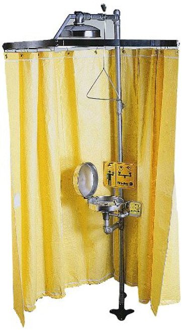 Bradley S19-330 Privacy Emergency Shower Curtain
