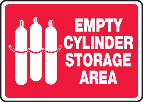 Empty Cylinder Storage Area