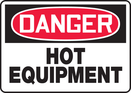 Danger - Hot Equipment