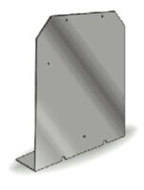 DOT Placard Aluminum Bracket