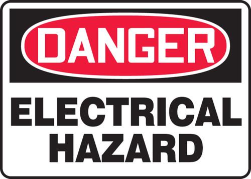 Danger - Electrical Hazard