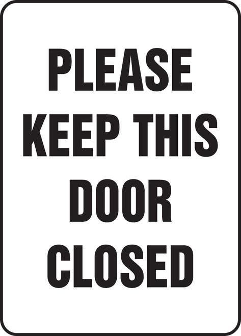 please keep this door closed sign MADM574VA