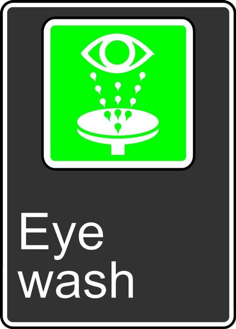 Eye Wash (Bassin Oculaire) - .040 Aluminum - 14'' X 10''