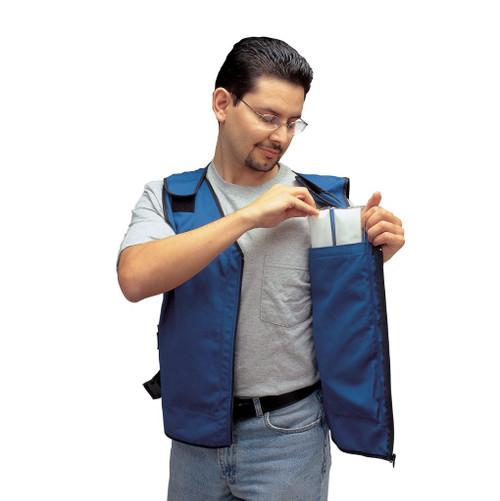 Allegro 8413-05 Standard Cooling Vest for Cooling Inserts, XX-Large