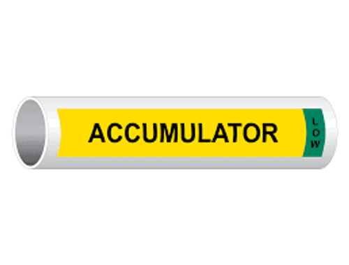 Accumulator Low IIAR Component Marker